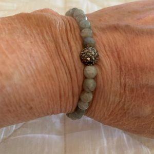 Jewelry - Labradorite stretch bracelet